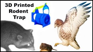 This 3D Printed Rodent Trap Caught Dinner For Raccoons & Hawks. Mousetrap Monday