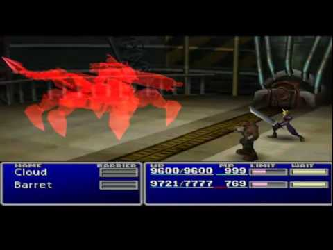 Final Fantasy VII played with Cheats Part : 1