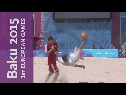 DAY 16 Replay | Beach Soccer | Baku 2015 European Games