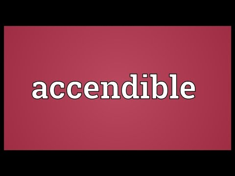 Header of Accendible
