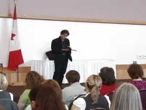 "Gabor Mate Lecture - ""Hold On To Your Kids"""