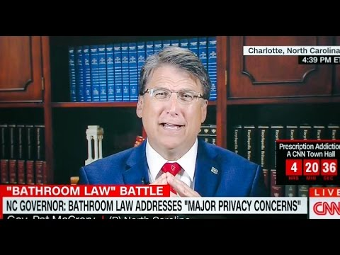 North Carolina Gov: 'Let's revisit the civil rights act' to allow 'segregated bathrooms'