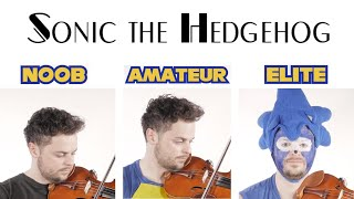 4 Levels of Sonic Music: Noob to Elite
