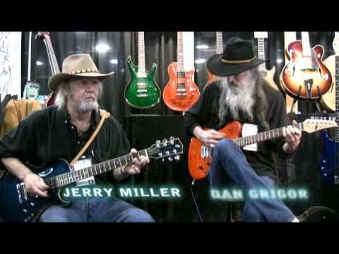 BFMN - Jerry Miller, legendary guitarist for Moby Grape with Dan Grigor at NAMM2011
