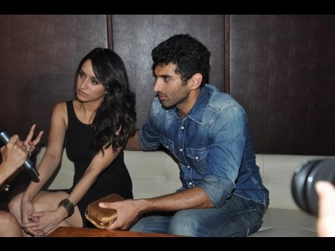 Aditya Roy Kapur & Shraddha Kapoor At Film Aashiqui 2 Success Party