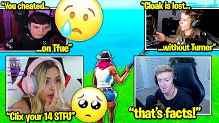 CORINNA makes CLIX *CRY* after THIS! SYMFUHNY says CLOAKZY *SUCKS* without TFUE! (Fortnite)