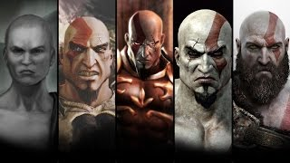 L'histoire complète de kratos / Le film (god of war ascension, chains of olympus, 1, ghost, 2, 3,)