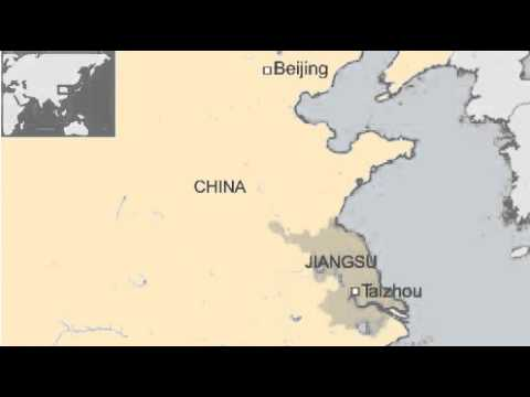 BBC News-Court in China issues record pollution fine