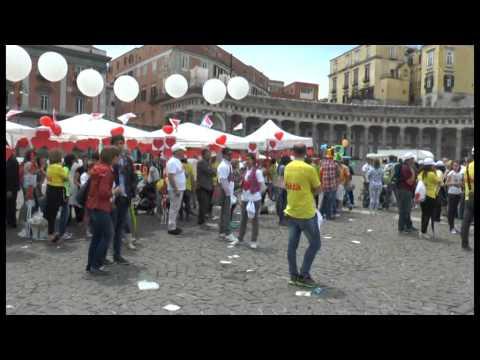 Napoli – Giornata nazionale delle donazioni di organi – Comici Made in Sud – live- (01.06.14)