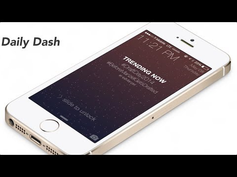Daily Dash: place trending topics on the Lock screen