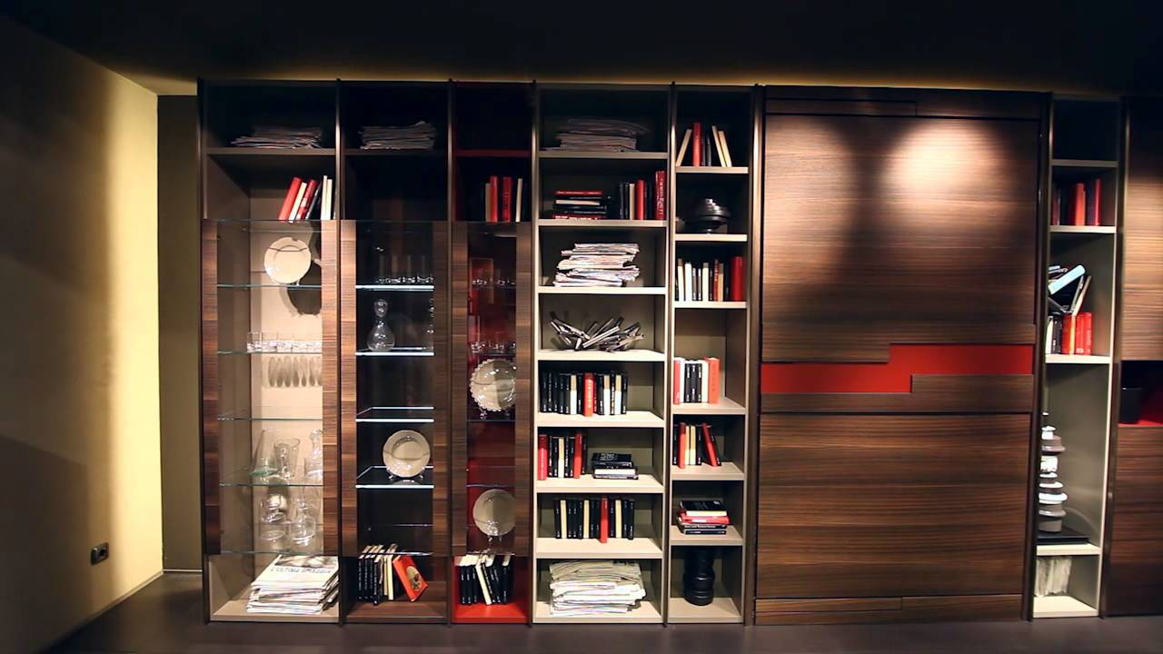 Fimar - Salone Internazionale del Mobile - Milano 2014 - librerie design, sog...