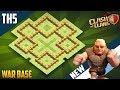 """LEGENDARY BASE"" TH5 WAR/TROPHY Base 2018!! COC Town Hall 5 (TH5) War Base Design - Clash of Clans"