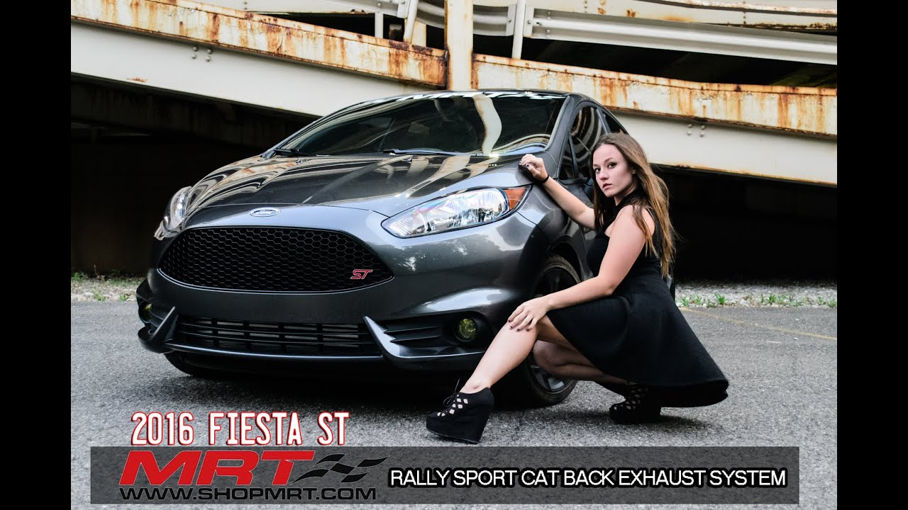 Ford Fiesta St Mrt Performance Rally Sport Cat Back Exhaust Youtube
