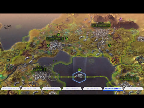 Official Sid Meier's Civilization: Beyond Earth 'Discovery' Gameplay Trailer