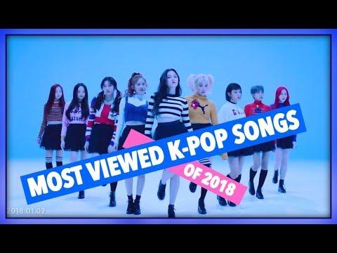 [TOP 10] MOST VIEWED K-POP SONGS OF 2018 • JANUARY (WEEK 1)