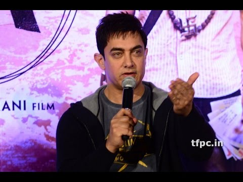 Bollywood actor Aamir Khan in PK movie promotion!