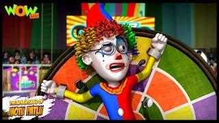 Circus - Motu Patlu in Hindi - 3D Animation Cartoon for Kids -As seen on Nickelodeon