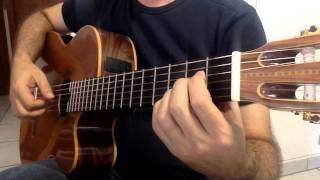 "Lullaby from Germany "" LA-LE-LU "" Solo Guitar"