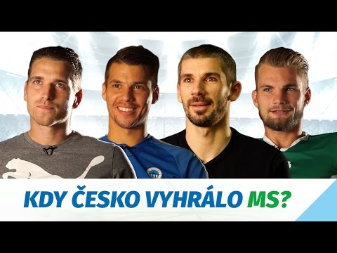 Fotbalový kvíz - Kdy Češi vyhráli fotbalové MS?