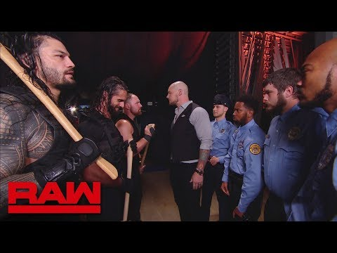 The Shield are forced to leave the building: Raw, Sept. 10, 2018 thumbnail