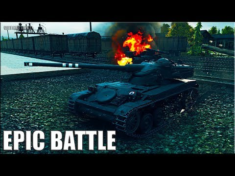 Как играют статисты на AMX 13 90 epic battle