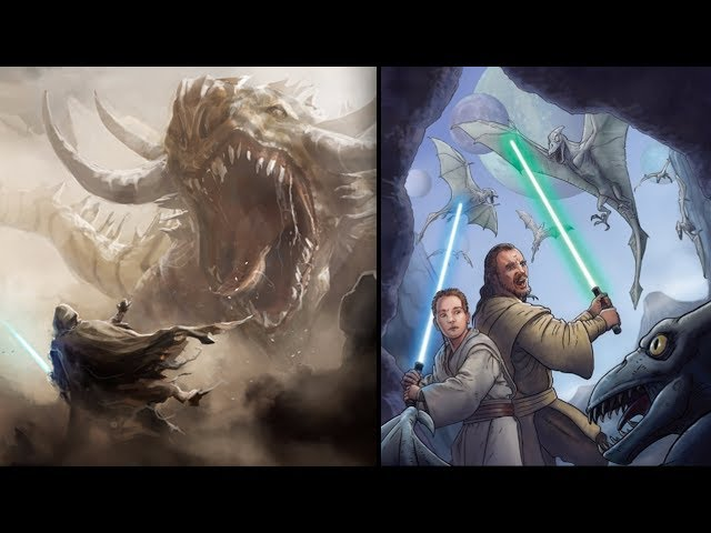 The Dragons in Star Wars Legends
