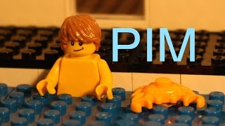 Lego Pim In Swimming pool