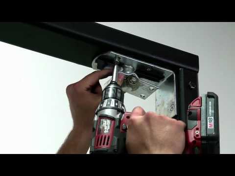3 pasos para instalar la puerta eliason bisagra easy - Puerta abatible cocina ...