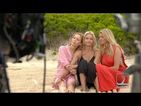 The Other Woman interview w/ Leslie Mann, Cameron Diaz and Kate Upton