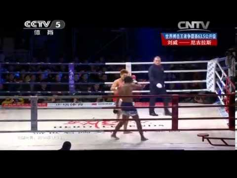 2014 Hero Legends :Sanshou VS Muay Thai: Liu Wei VS Nicolas Lameche Image 1