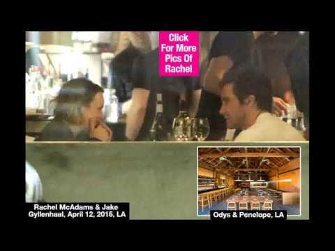 Rachel McAdams & Jake Gyllenhaal  Flirty Dinner In LA — Dating!