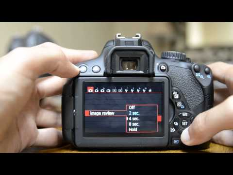 Canon T4i Tutorial Canon 650D How to Tutorial Set Up Guide