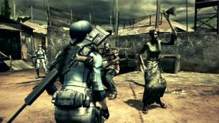 Resident Evil 5 - Team Survivors - Warming up before RE5 remastered