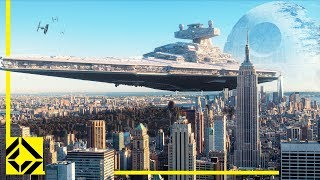 VFX Artist Reveals HOW BIG Star Wars Ships REALLY Are!