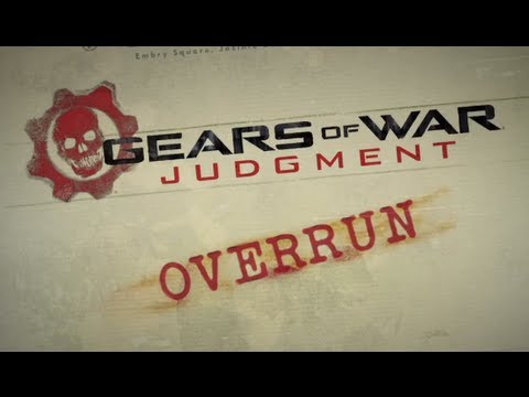 Gears of War: Judgment - Overrun Demo Gameplay Pt.3