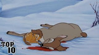 Top 10 Shocking Disney Character Deaths - Part 2