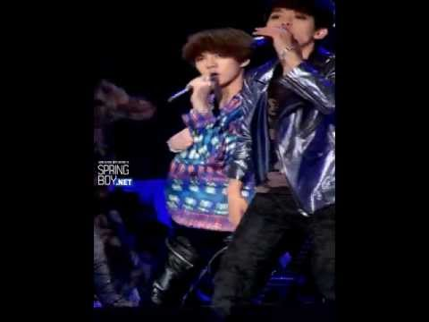 Fancam 120510 EXO-K KBS Yeosu Open Concert - MAMA (Sehun focus) Music Videos