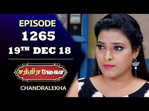 CHANDRALEKHA Serial | Episode 1265 | 19th Dec 2018 | Shwetha | Dhanush | Saregama TVShows Tamil