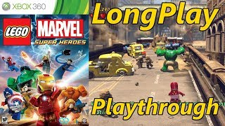 Lego Marvel Super Heroes - Longplay Full Game Walkthrough (No Commentary)