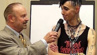 Exorcist Bob Larson goes face-to-face with a Satanist!