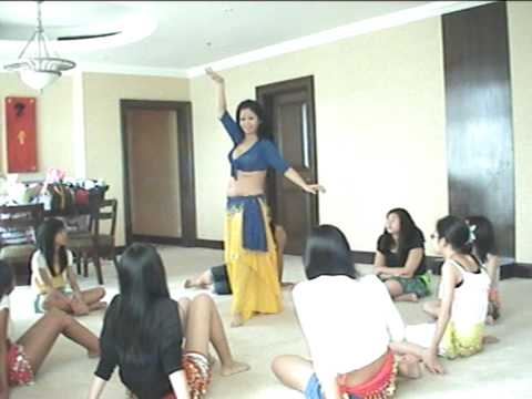 Belly Princess Private Belly Dance Lesson At The Ritz Carlton Residences, Bukit Bintang Kuala Lumpur Video