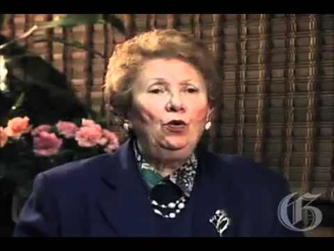 Holocaust survivor Ann Kazimirski's testimony to the Shoah Foundation