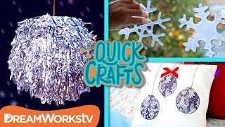6 Holiday Decor DIYs | QUICK CRAFTS