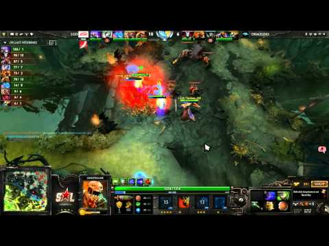 The International 3 East Quali  Group A  Dreamz vs LGDcn Game 1