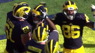 2015 Michigan vs. Northwestern Highlights