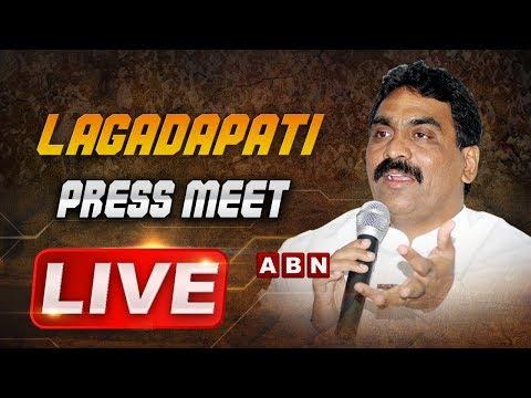 Lagadapati Rajagopal Press Meet Live | KTR VS Lagadapati | ABN Telugu