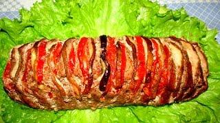 """Вкусно - #Мясо Запеченное в Духовке """"Мясная Книжка"""" #СвининаГАРМОШКА Рецепты."""