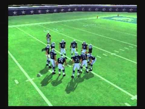 Madden NFL 07 Historic Teams Special 1971 Kansas City Chiefs vs 1971 Dallas Cowboys Video Game Simulation video Game (Video Game Genre) PlayStation 2 Video G...