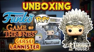 UNBOXING FUNKO POP! - CERSEI LANNISTER IRON THRONE