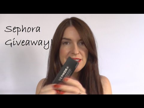 Sephora Giveaway & Luster Matte Review